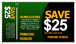 riverside process server coupon - jpl process service (866) 754-0520