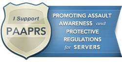 paaprs logo riverside process server safety campaign
